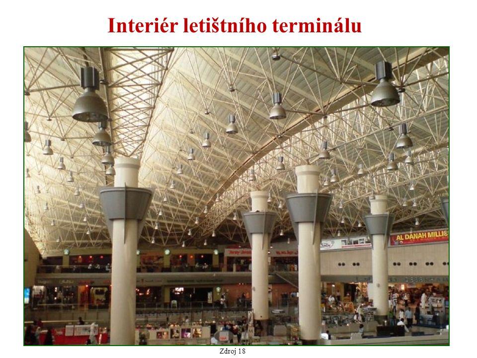 Interiér letištního terminálu Zdroj 18