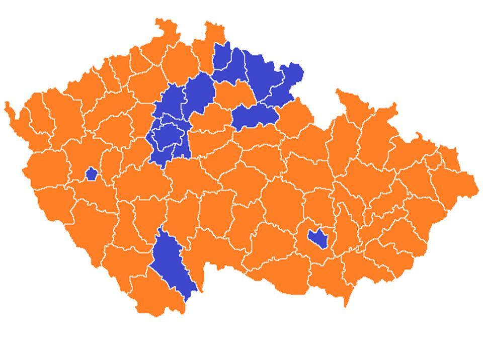 Volby 2002 Ve volbách zvítězila ČSSD pod vedením Vladimíra Špidly, která následně sestavila vládu za účasti KDU- ČSL a US-DEU Vláda však celé své funkční období disponovalo jen nepatrnou většinou a byla nestabilní Volební účast: 58 % voličů ČSSD - 30 % ODS - 24,5 % KSČM – 18 % Koalice KDU-ČSL + US/DEU – 14 % Premiér – Vladimír Špidla