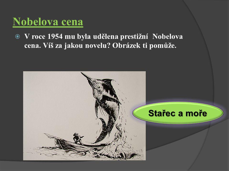 Ze života…  21.7.1899 – 2.7. 1961  Vyrůstal v rodině lékaře, šťastné dětství  Mezi koníčky patřila především příroda, lov a sport  Odešel jako dob