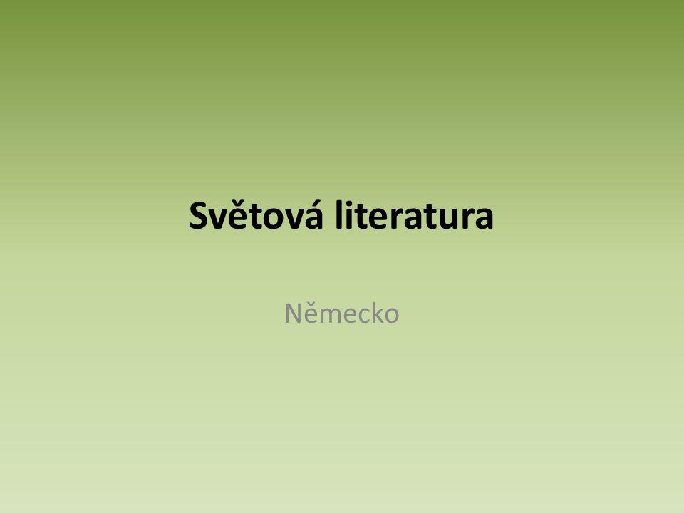 Světová literatura Německo