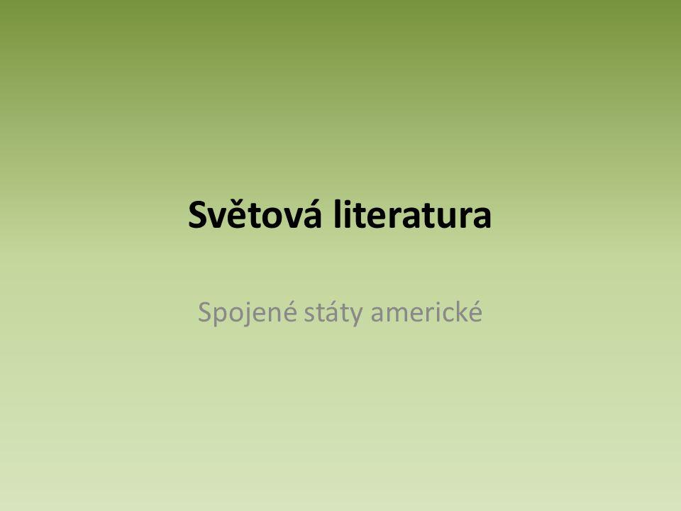 Světová literatura Spojené státy americké