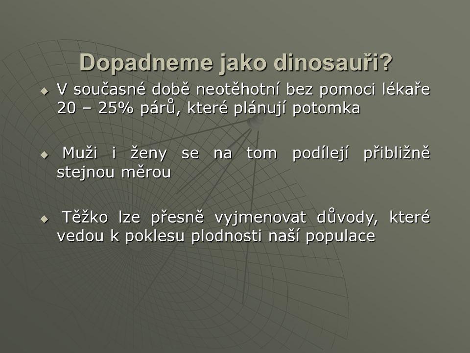 Dopadneme jako dinosauři.