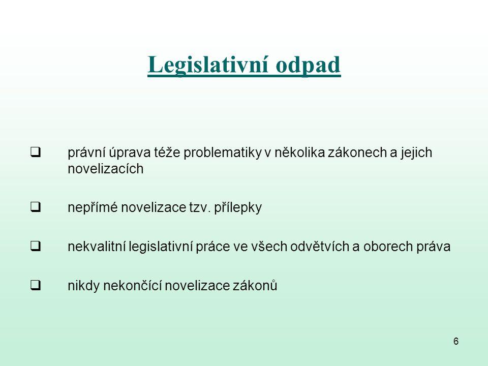 Občané mají právo na srozumitelné zákony Ve Sbírce zákonů bylo: v roce 1980 uveřejněno 185 právních předpisů v roce 1985 uveřejněno 141 právních předpisů v roce 2012 uveřejněno 504 předpisů v roce 2013 uveřejněno 475 předpisů v roce 2014 uveřejněno 366 předpisů.