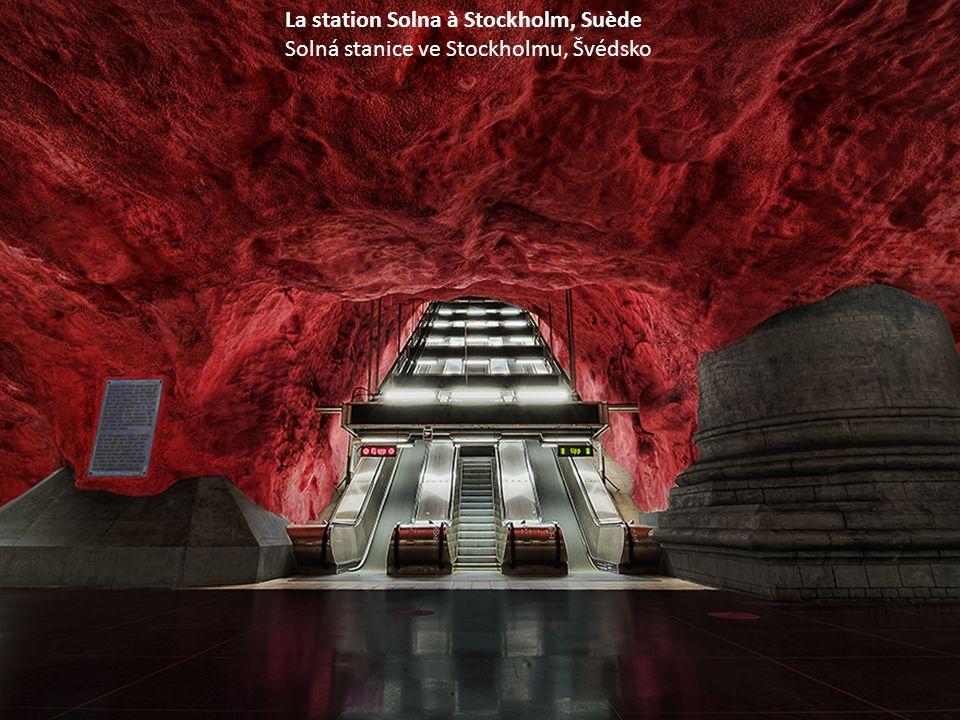 La station T-Centralen à Stockholm, Suède Stanice T-Centrální ve Stockholmu, Švédsko