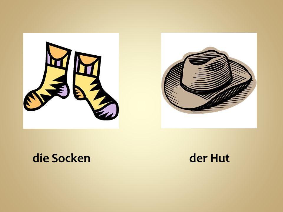 die Socken der Hut