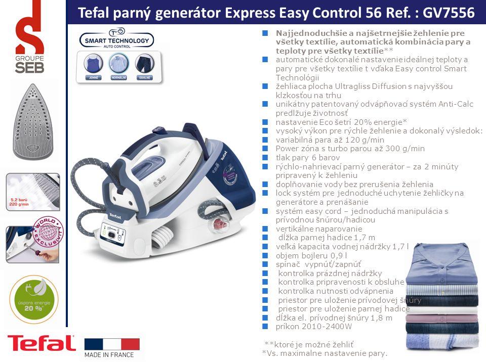 Tefal parný generátor Express Easy Control 56 Ref.