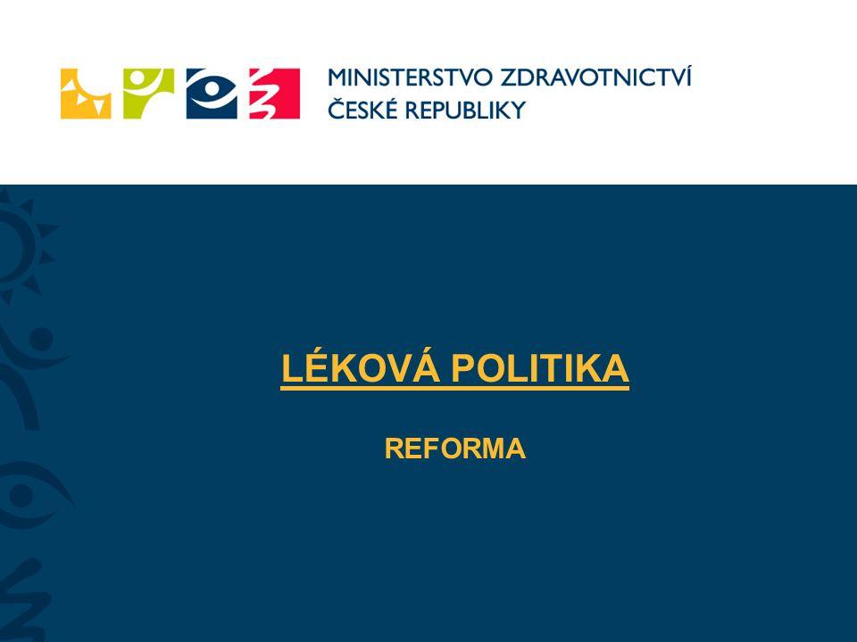 LÉKOVÁ POLITIKA REFORMA