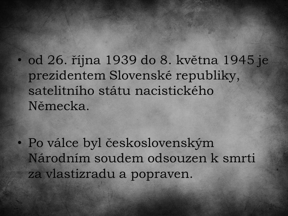 od 26. října 1939 do 8.