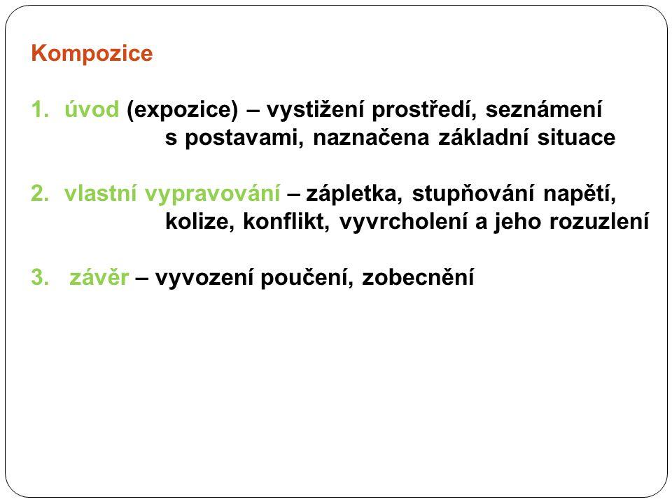 Zdroje: Sochorová, M.: Český jazyk v kostce pro střední školy. Fragment, Havlíčkův Brod, 1999