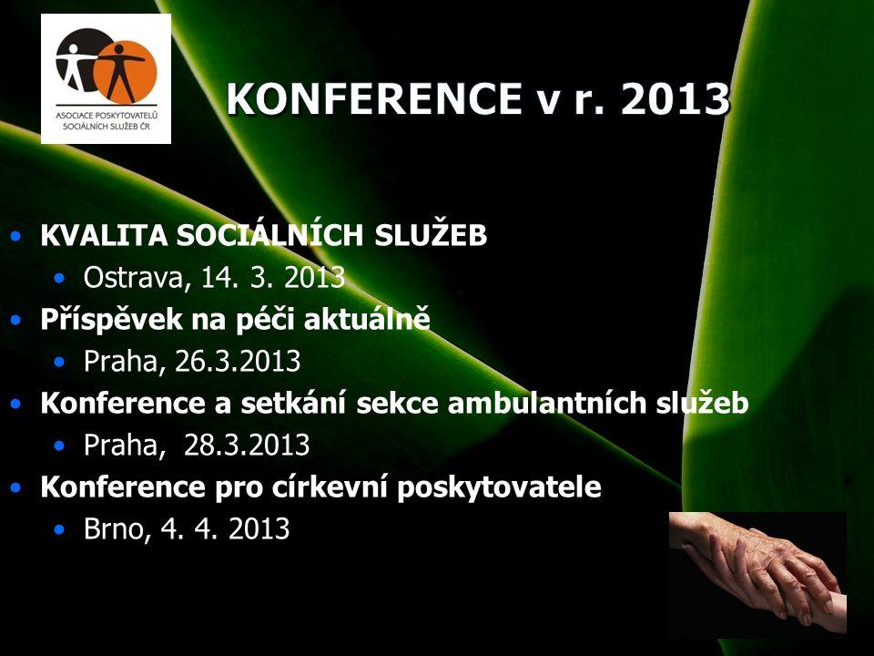 1 KVALITA SOCIÁLNÍCH SLUŽEB Ostrava, 14. 3.