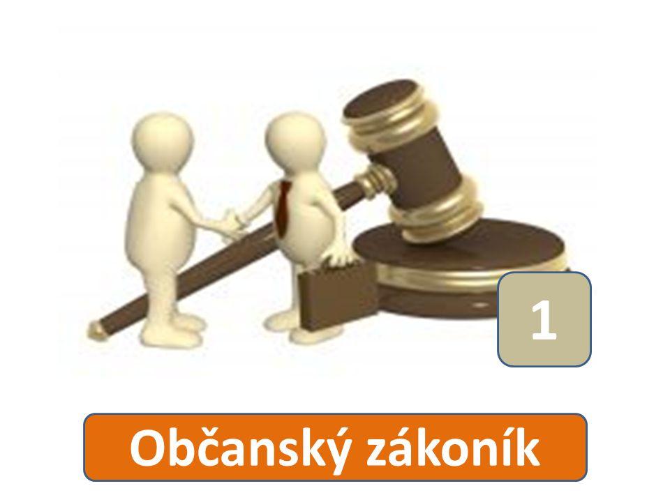 1 Občanský zákoník