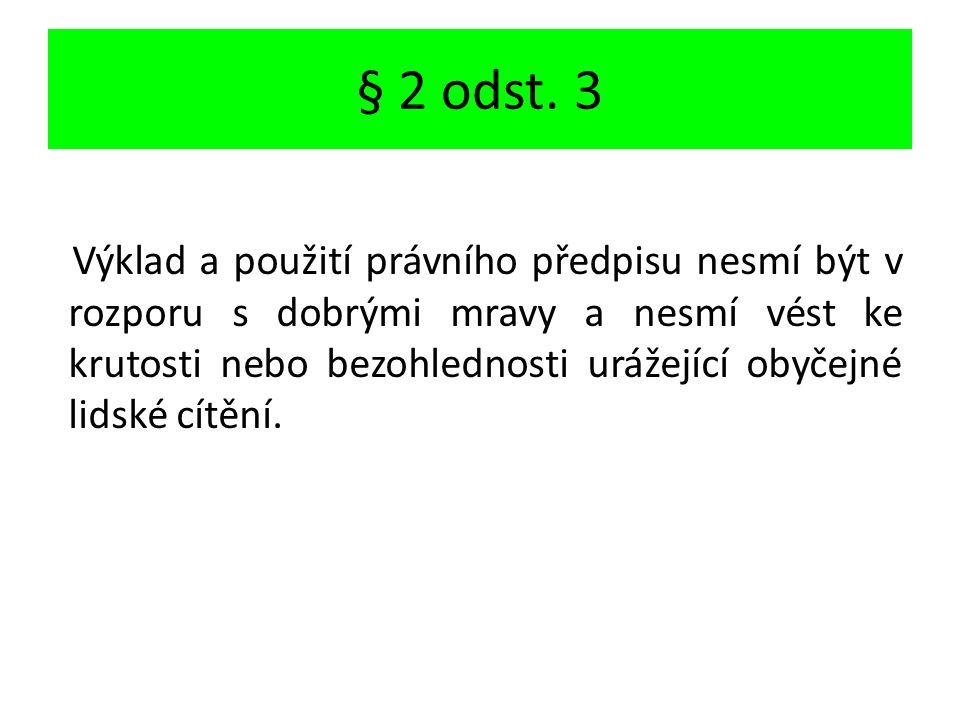 § 2 odst.