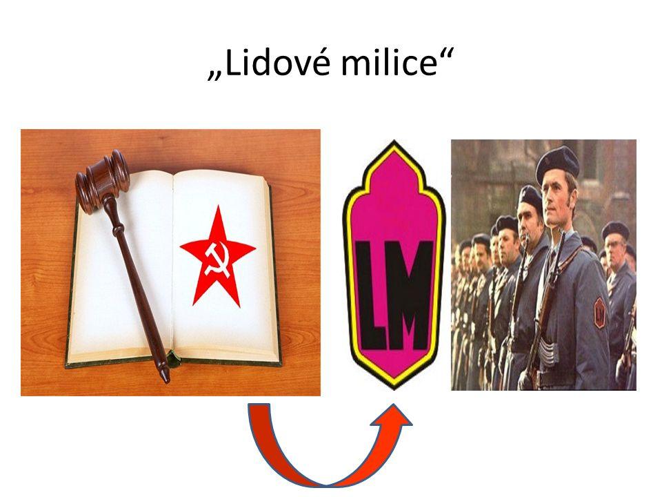 """""""Lidové milice"""