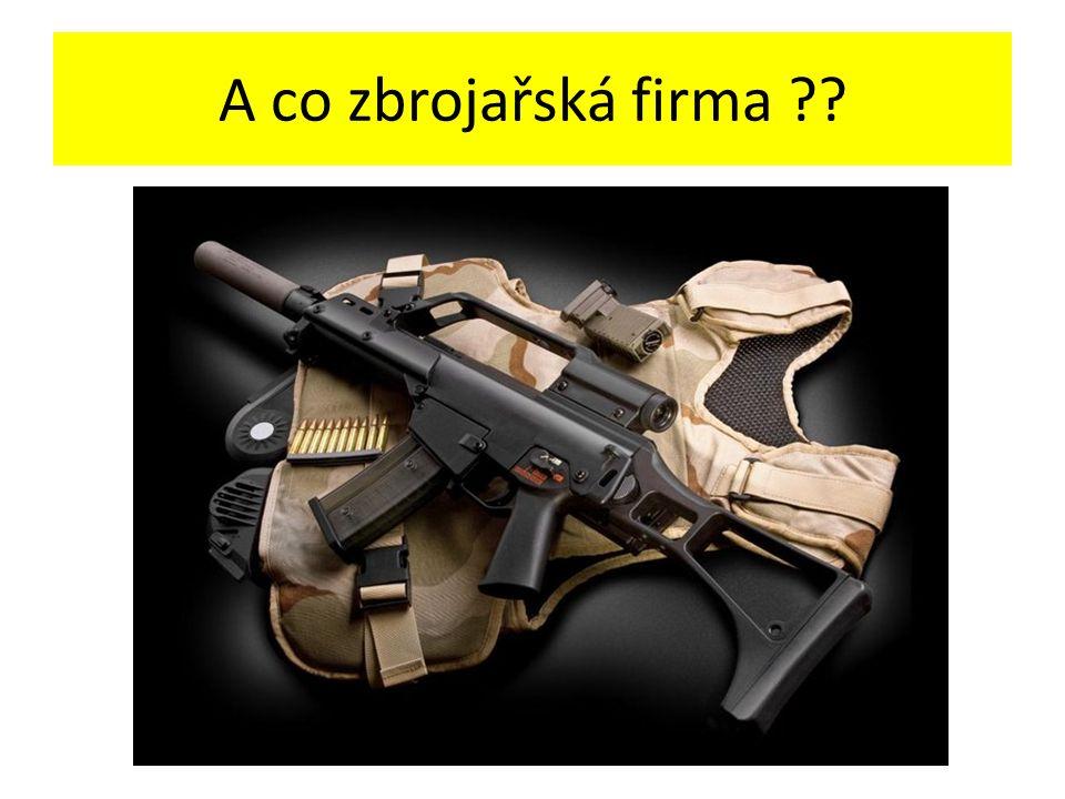 A co zbrojařská firma