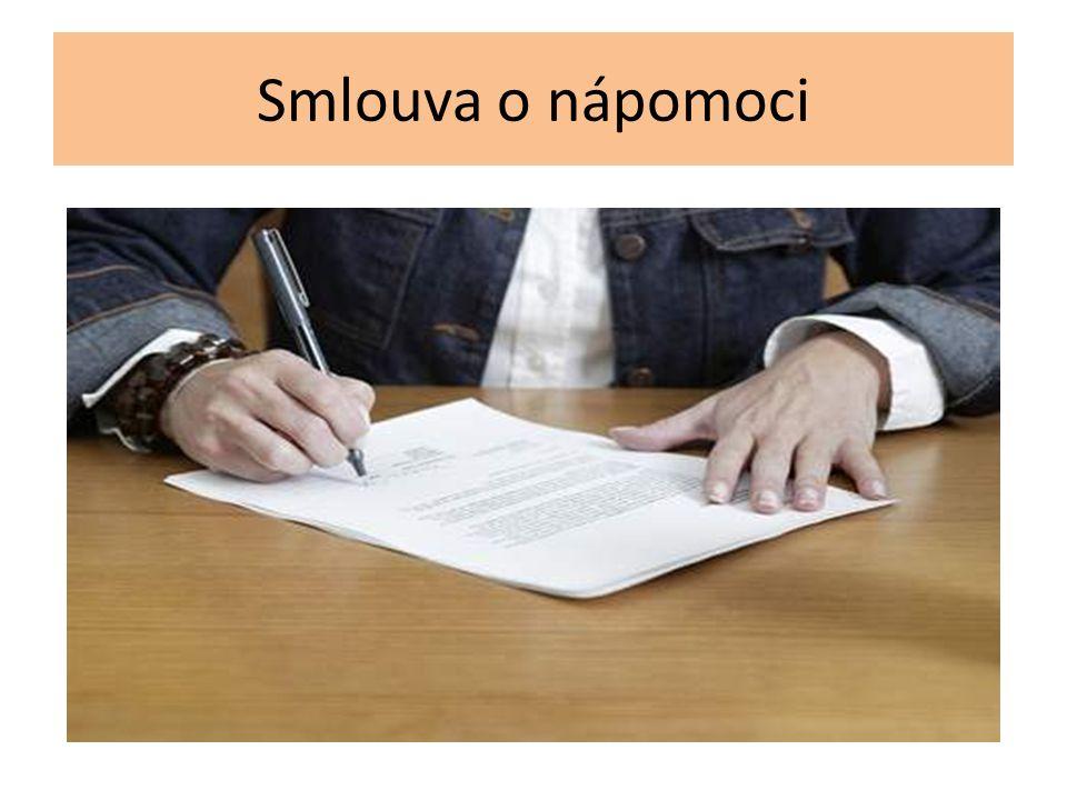 Smlouva o nápomoci