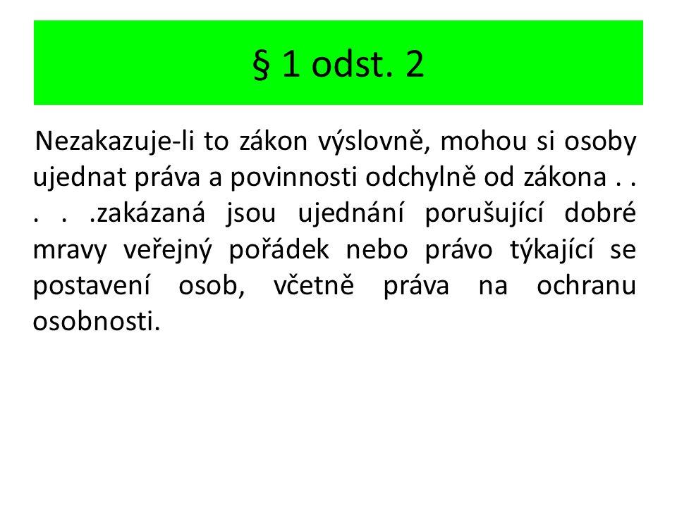§ 1 odst.