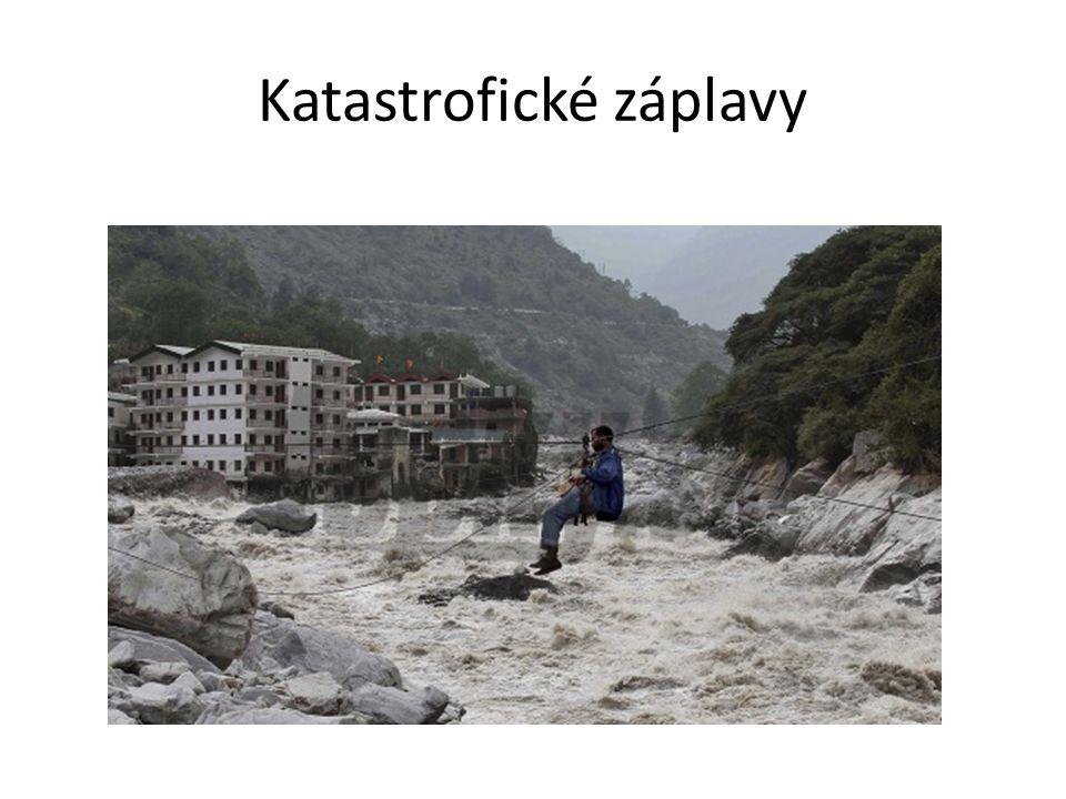 Katastrofické záplavy