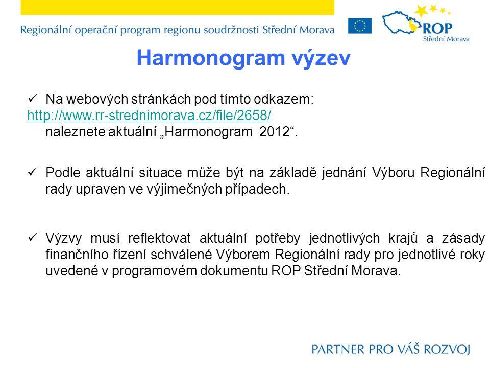 Výzva č.33/2012 Vyhlášeno: 11. 6. 2012 – 13. 8.