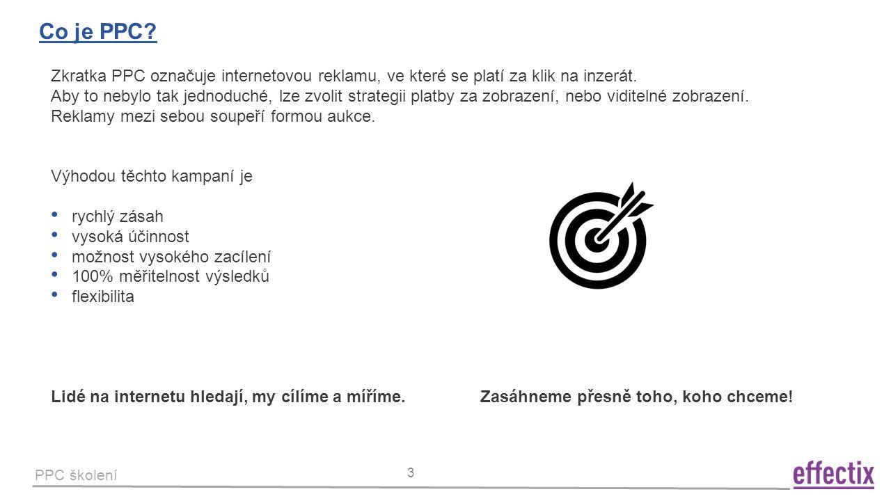 PPC školení 4 PPC systémy v ČR a SR.