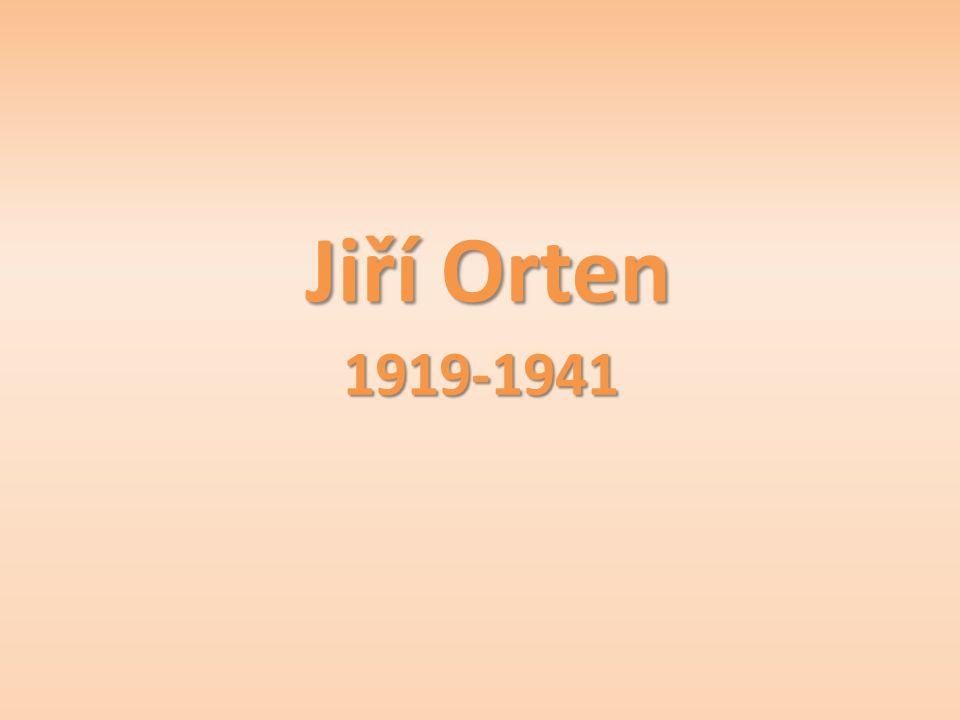 Jiří Orten 1919-1941