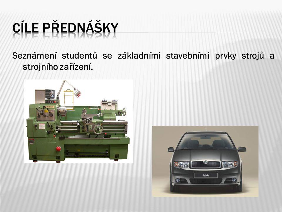 1.Úvod – technický systém, technická mechanika 2.