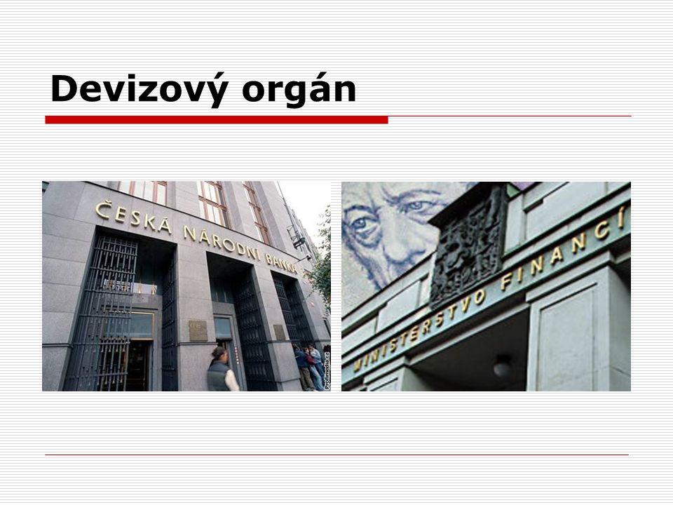 Devizový orgán
