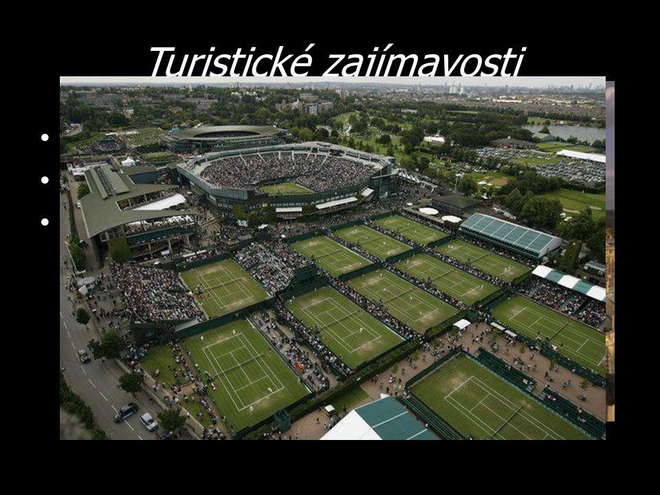 Turistické zajímavosti Centrum vzdělávání Oxford Tenisový turnaj Wimbledon Liverpool – dostihy, Beatles