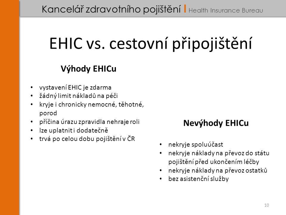 EHIC vs.