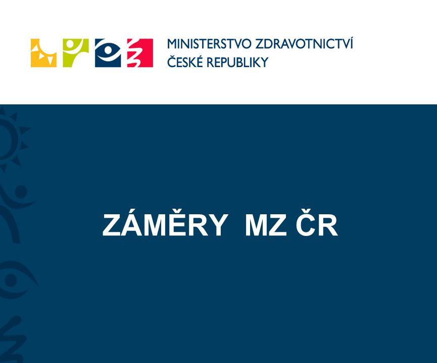 ZÁMĚRY MZ ČR