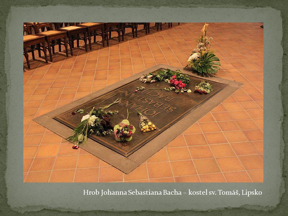 Hrob Johanna Sebastiana Bacha – kostel sv. Tomáš, Lipsko