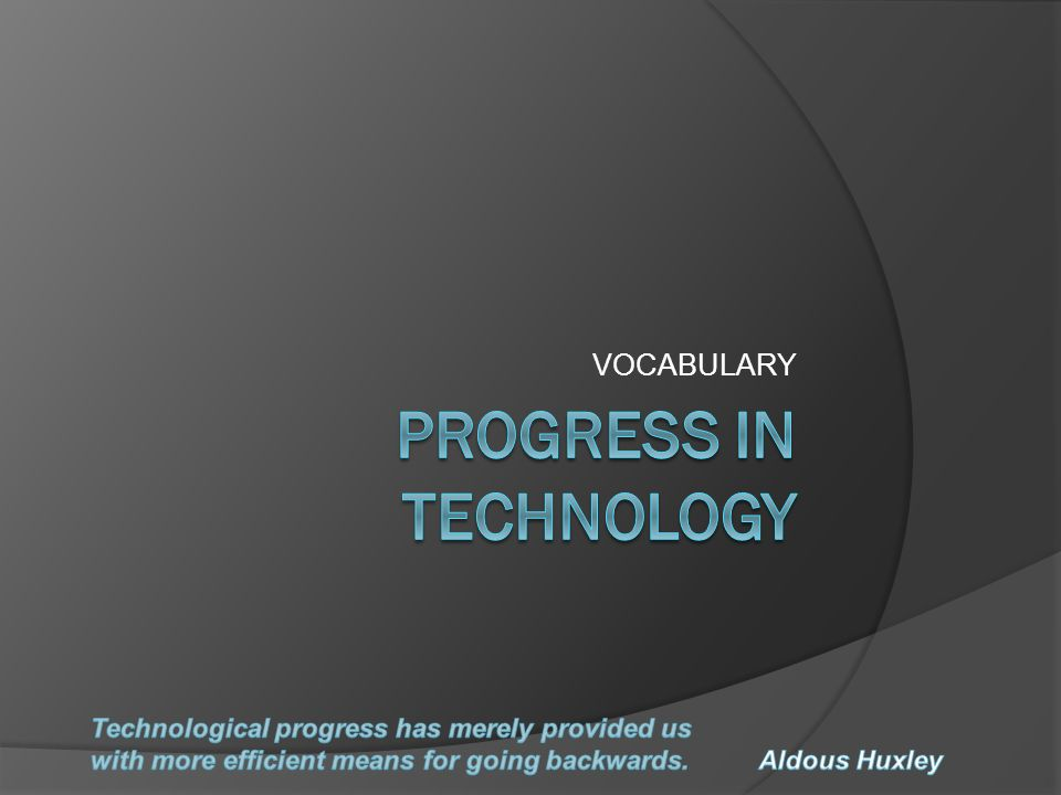 There are a lot of technological tools, which have changed our life style.