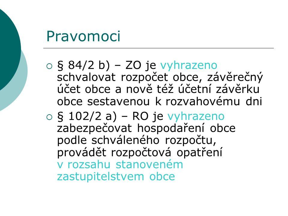 30 Závěrečný účet vs.zpráva o výsledcích přezkoumání hospodaření obce § 17/5 z.