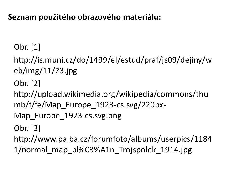 Seznam použitého obrazového materiálu: Obr.