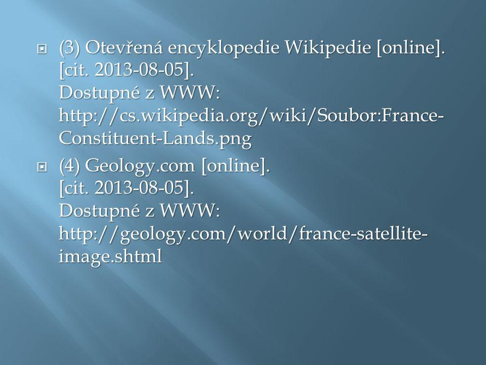  (3) Otevřená encyklopedie Wikipedie [online]. [cit.