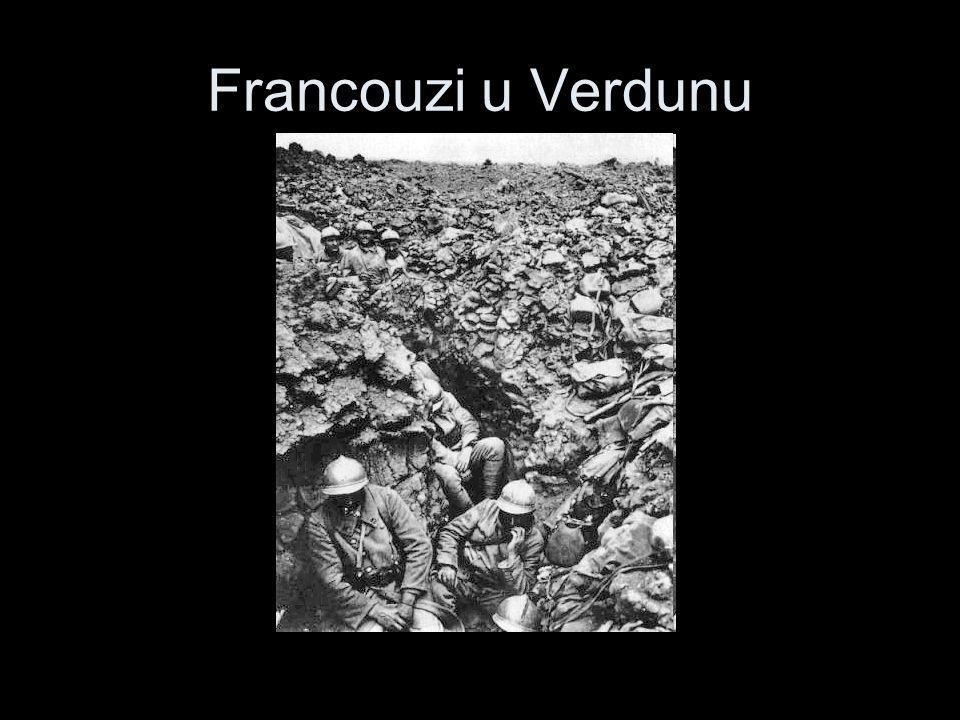 Francouzi u Verdunu