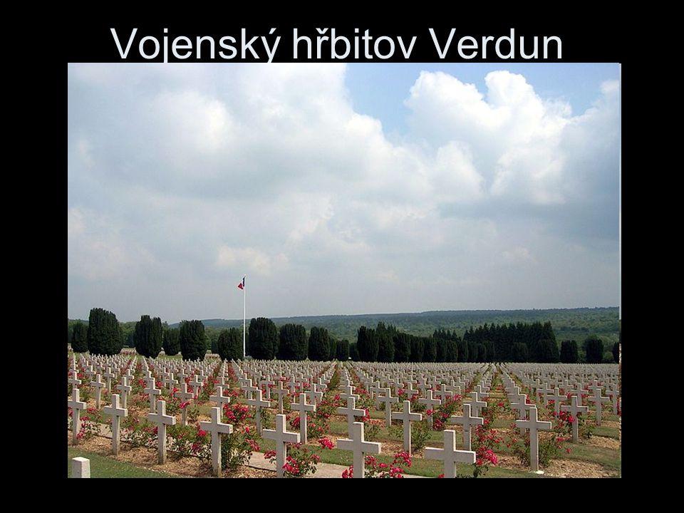 Vojenský hřbitov Verdun