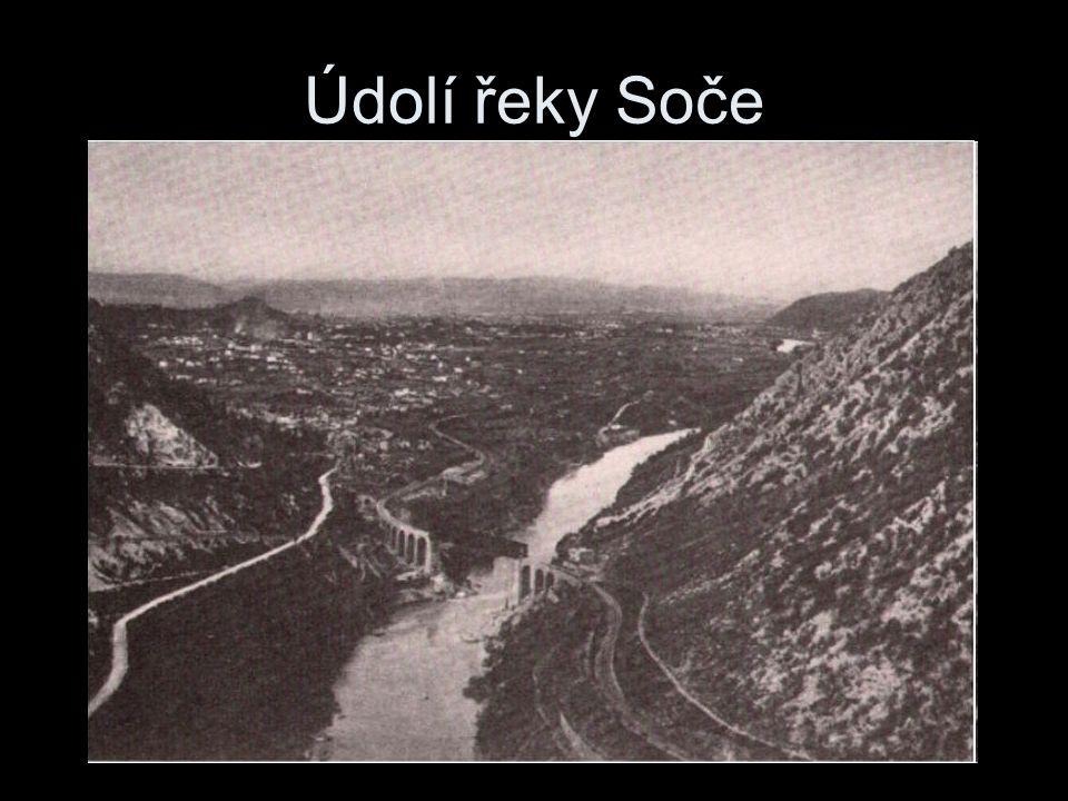 Údolí řeky Soče