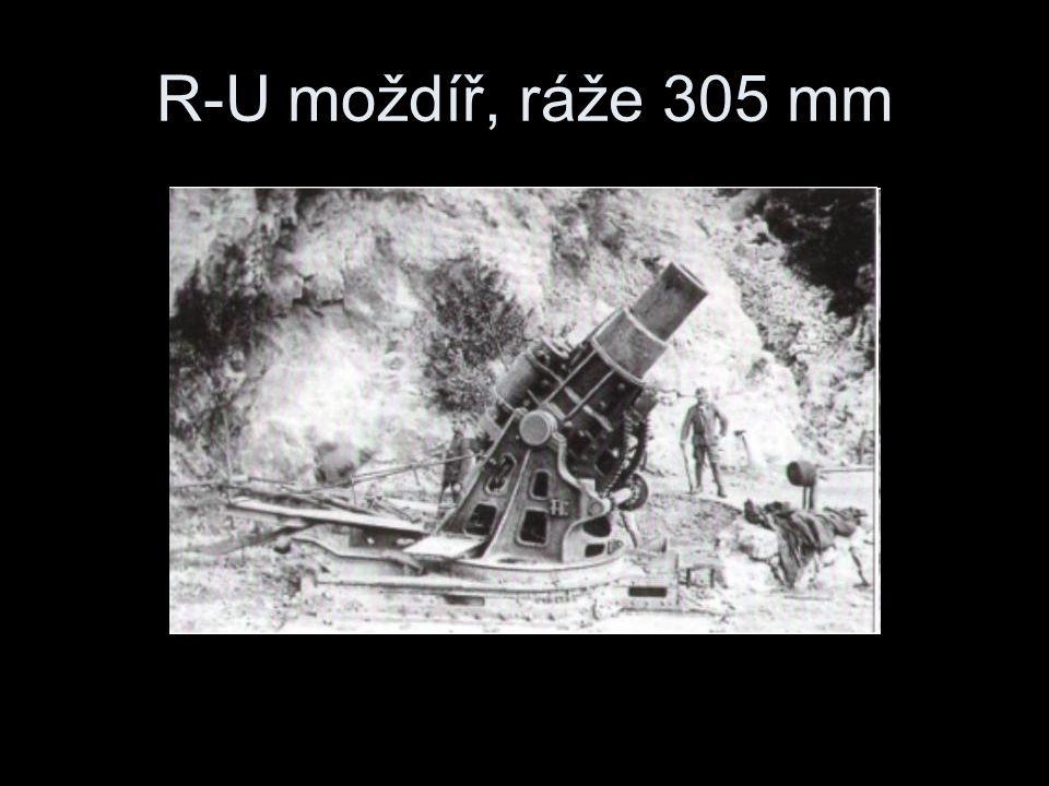 R-U moždíř, ráže 305 mm
