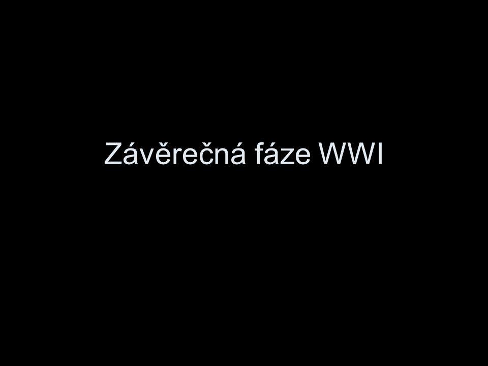 Závěrečná fáze WWI