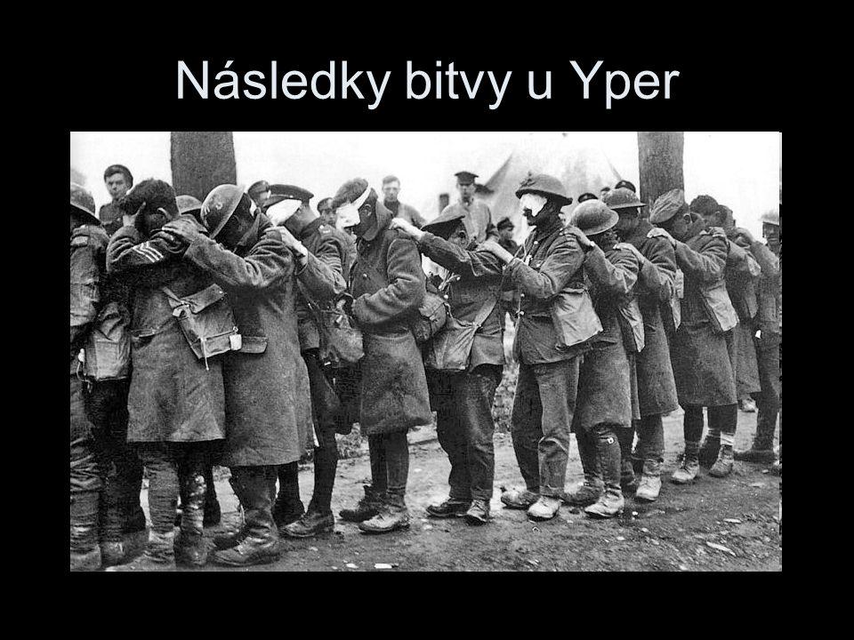 Následky bitvy u Yper
