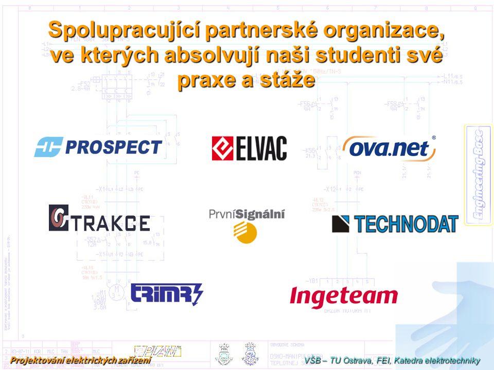 Spolupracující partnerské organizace, ve kterých absolvují naši studenti své praxe a stáže Studijní program (obor) je čtyřletý, což vychází z noveliza