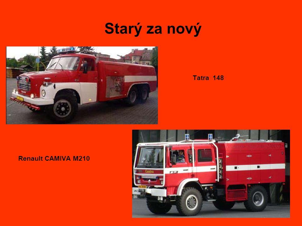 Starý za nový Renault CAMIVA M210 Tatra 148