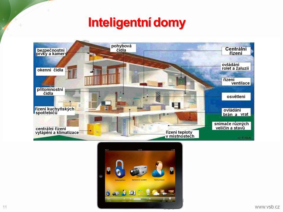 Inteligentní domy 11 www.vsb.cz