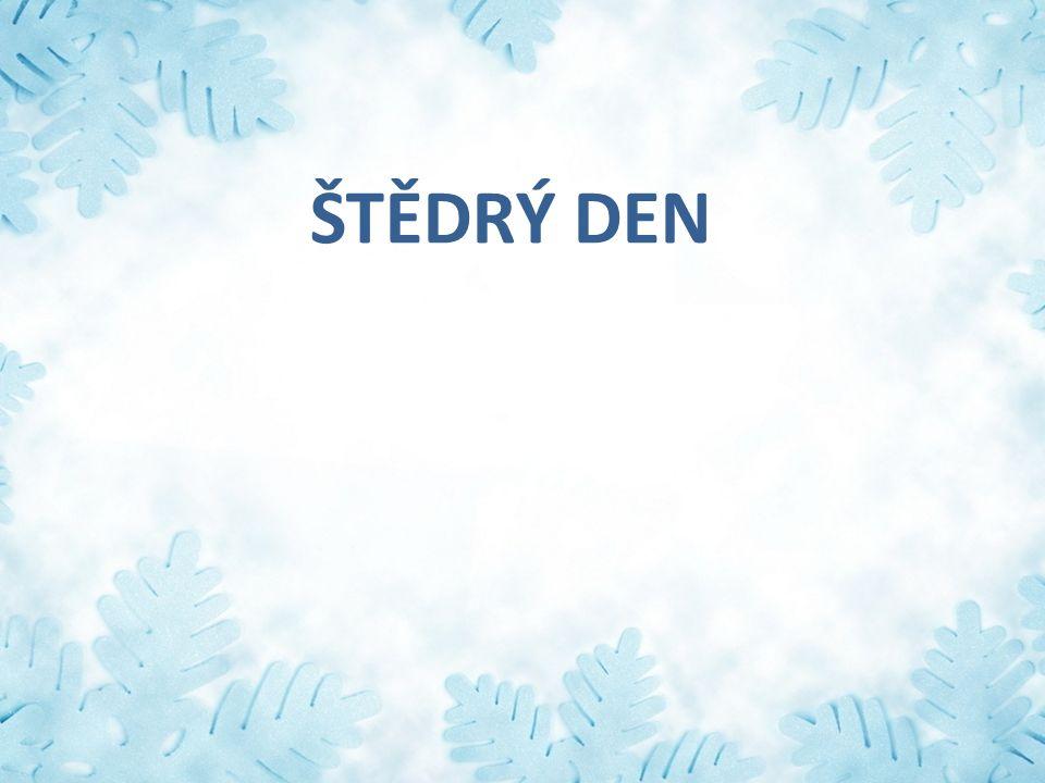 ŠTĚDRÝ DEN