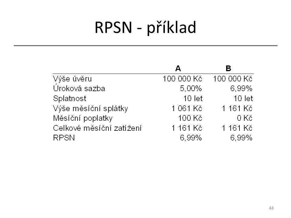 RPSN - příklad 44