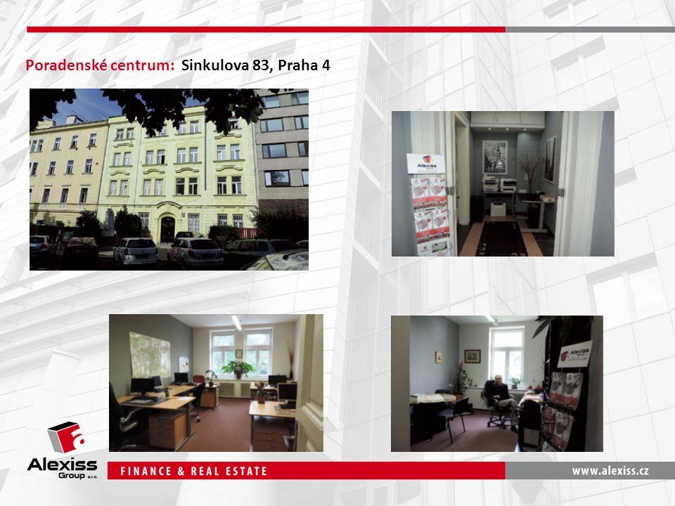Poradenské centrum: Sinkulova 83, Praha 4