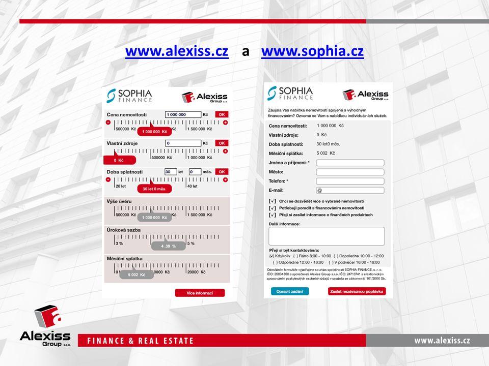 www.alexiss.czwww.alexiss.cz a www.sophia.czwww.sophia.cz