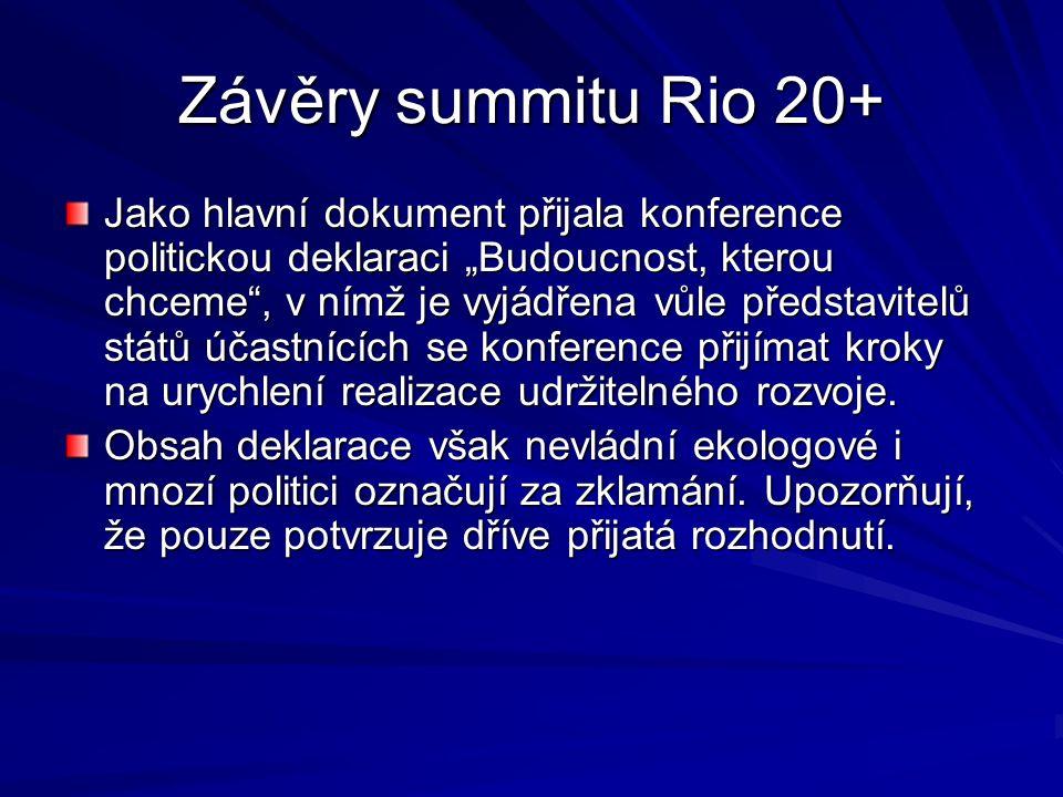 Konference Rio+20 20. -22.