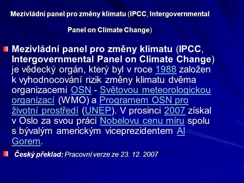 Organizace pro ekonomickou spolupráci a rozvoj (OECD) Hodnocení stavu, vývoje a politiky životního prostředí (Environmental Performance Review, EPR) patří mezi stěžejní a dlouhodobé práce Direktorátu životního prostředí OECD a musí jím projít každá z členských zemí OECD.