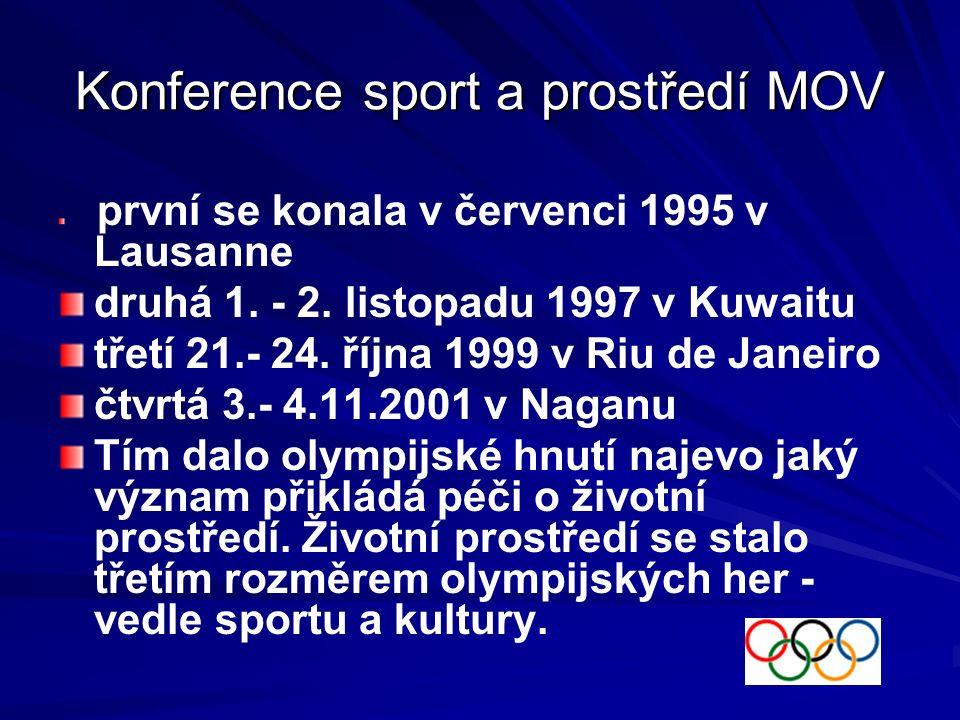 Konference MOV 1994 - Paříž V srpnu 1994 se v Paříži uskutečnil XII.